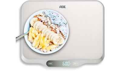 ADE Küchenwaage »KE 1601 Ladina«, große Waage mit XXL-Wiegefläche aus Edelstahl bis 15kg kaufen