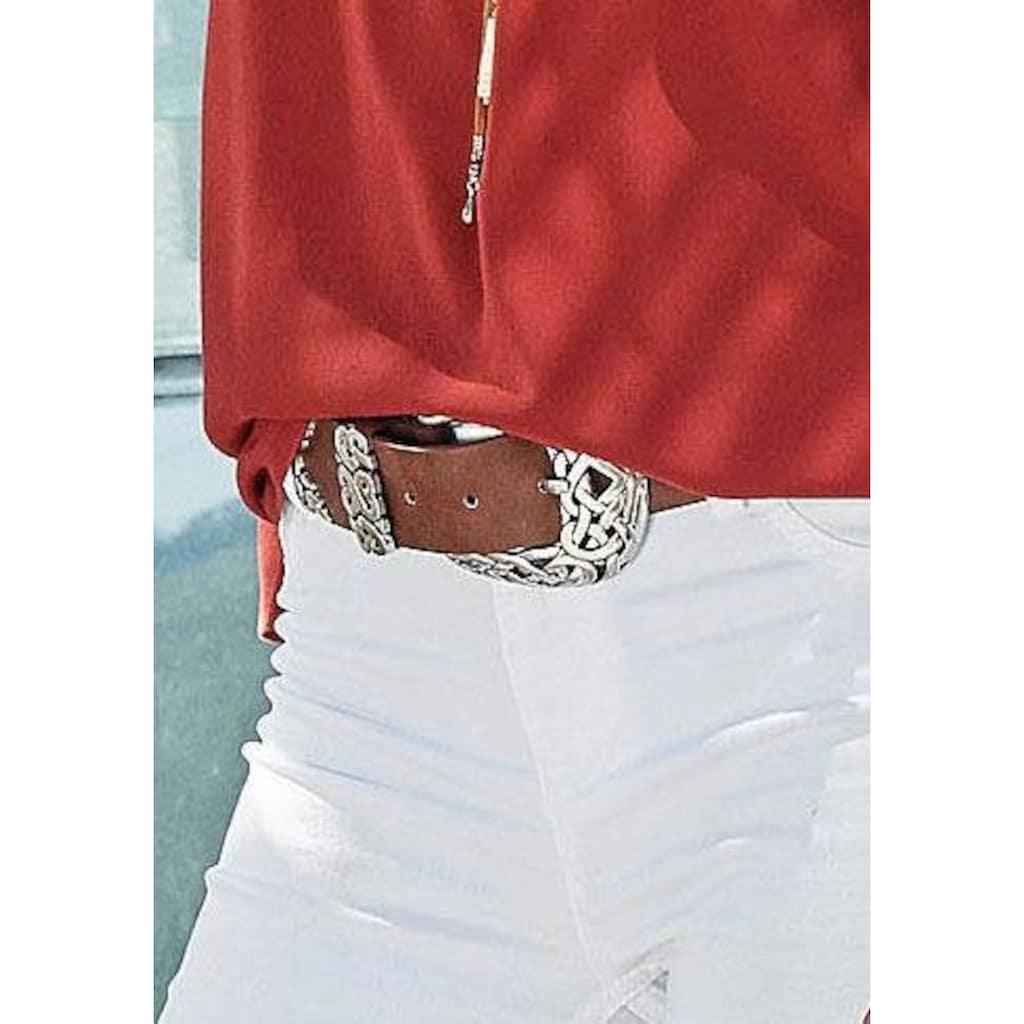 LASCANA Hüftgürtel, mit aufregender Zierschnalle