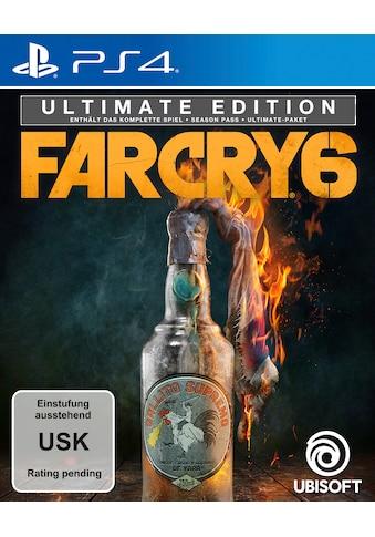 Far Cry 6  -  Ultimate Edition PlayStation 4 kaufen