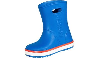 Crocs Gummistiefel »Crocsband Rain Boot Kids blau«, reflektierend kaufen