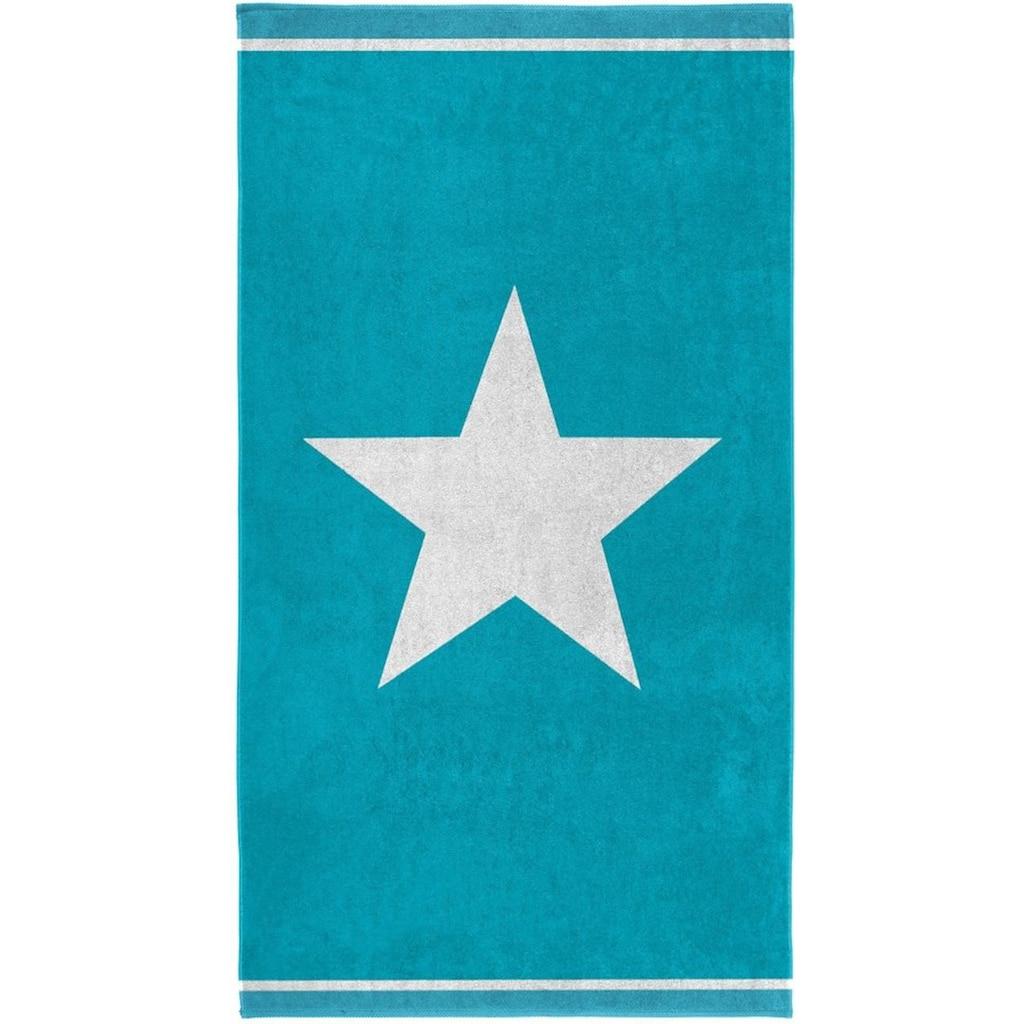 Seahorse Strandtuch »Star«, (1 St.), mit großem Sternemotiv