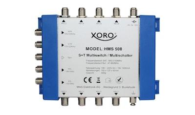 Xoro XORO Multischalter 5 Eingänge / 8 Ausgänge »HMS 508« kaufen