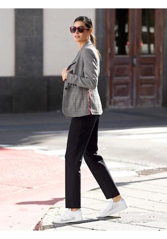 Laura Kent Stoffhose, mit Streifendehnbund kaufen