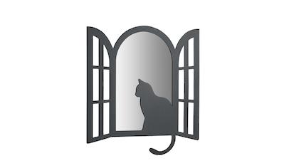Memoboard Katze mit Spiegel kaufen