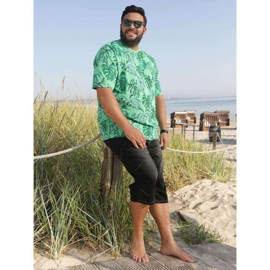 Men Plus by HAPPYsize Bermudas, aus reiner Baumwolle