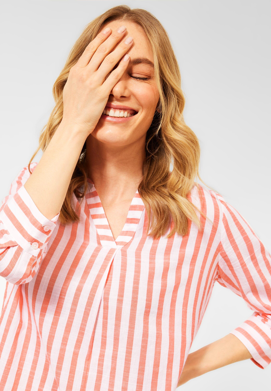 cecil -  Hemdbluse, mit Streifenmuster