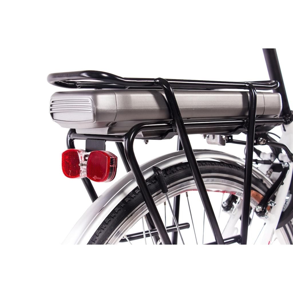 Chrisson E-Bike »E-Lady N7«, 7 Gang, Shimano, Nexus SG-C3000-7C, Frontmotor 250 W