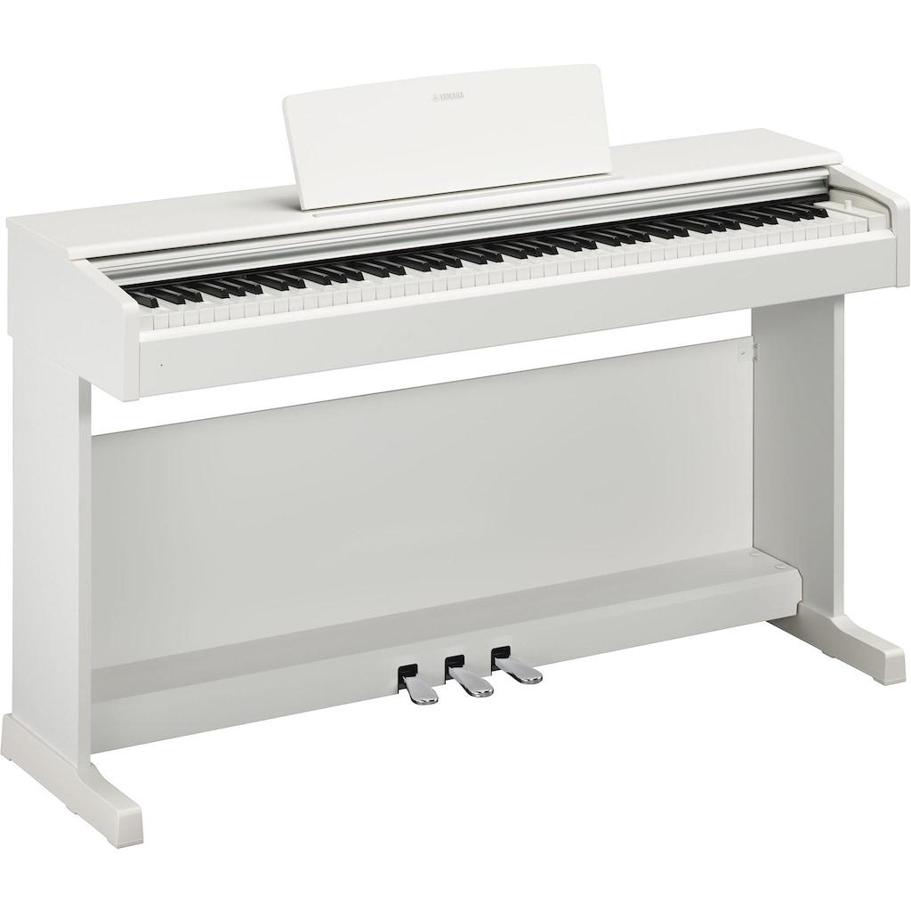 Yamaha Digitalpiano »YDP144WH«, kostenlose Smart Pianist App