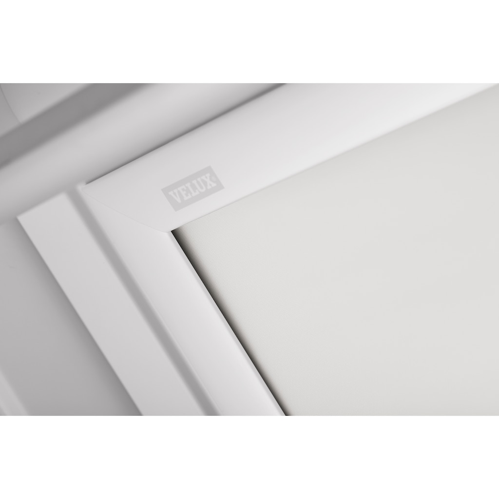 VELUX Verdunklungsrollo »DKL F04 1025SWL«, verdunkelnd, Verdunkelung, in Führungsschienen, weiß
