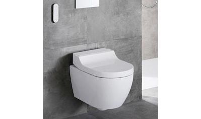 GEBERIT Tiefspül-WC »AquaClean Tuma«, Comfort Dusch-WC mit WC-Sitz weiß, mit... kaufen