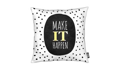 Dekokissen, »Make It Happen«, Juniqe kaufen