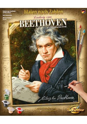 Schipper Malen nach Zahlen »Meisterklasse Premium - Ludwig van Beethoven«, Made in Germany kaufen