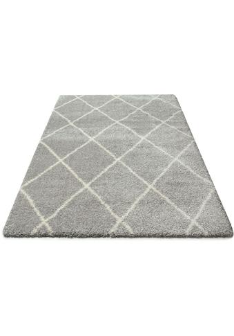 andas Hochflor-Teppich »Hunter«, rechteckig, 40 mm Höhe, dichter, weicher Flor, Wohnzimmer kaufen