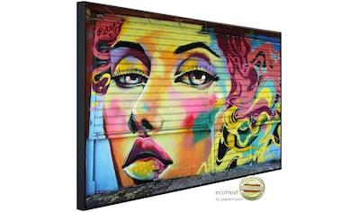 Papermoon Infrarotheizung »Graffiti«, sehr angenehme Strahlungswärme kaufen