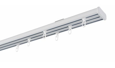 GARESA Flächenvorhangschiene »Compact Deckenmontage«, 3 läufig-läufig, Wunschmaßlänge kaufen