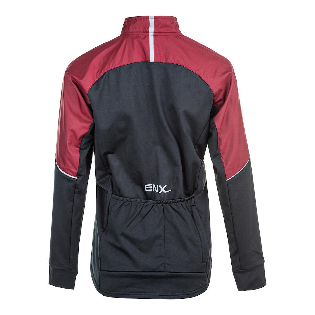 ENDURANCE Laufjacke »JIGSAW W Functional Bike Jacket«, mit wind- und wasserdichten Shell-Einsätzen