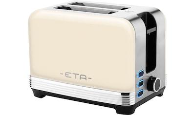 eta Toaster »STORIO ETA916690040«, 2 kurze Schlitze, 980 W, 7 Bräunungsstufen kaufen