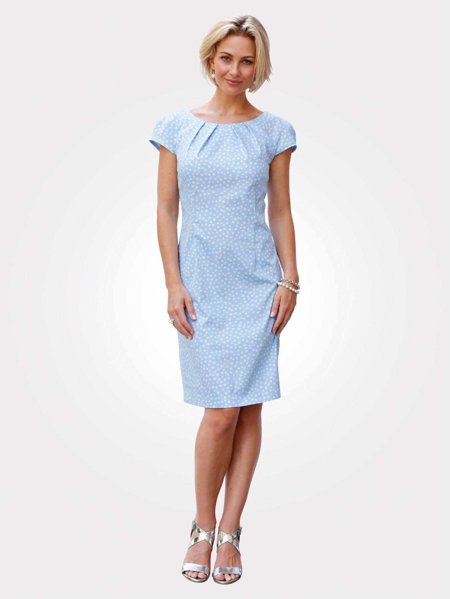 Mona Kleid mit Tupfen-Druck