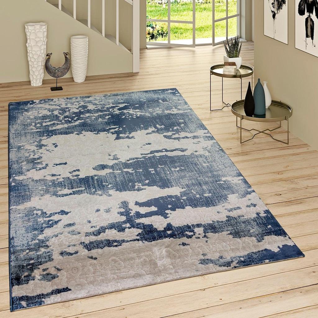 Paco Home Teppich »Victory 601«, rechteckig, 16 mm Höhe, Kurzflor, Vintage Design, Wohnzimmer