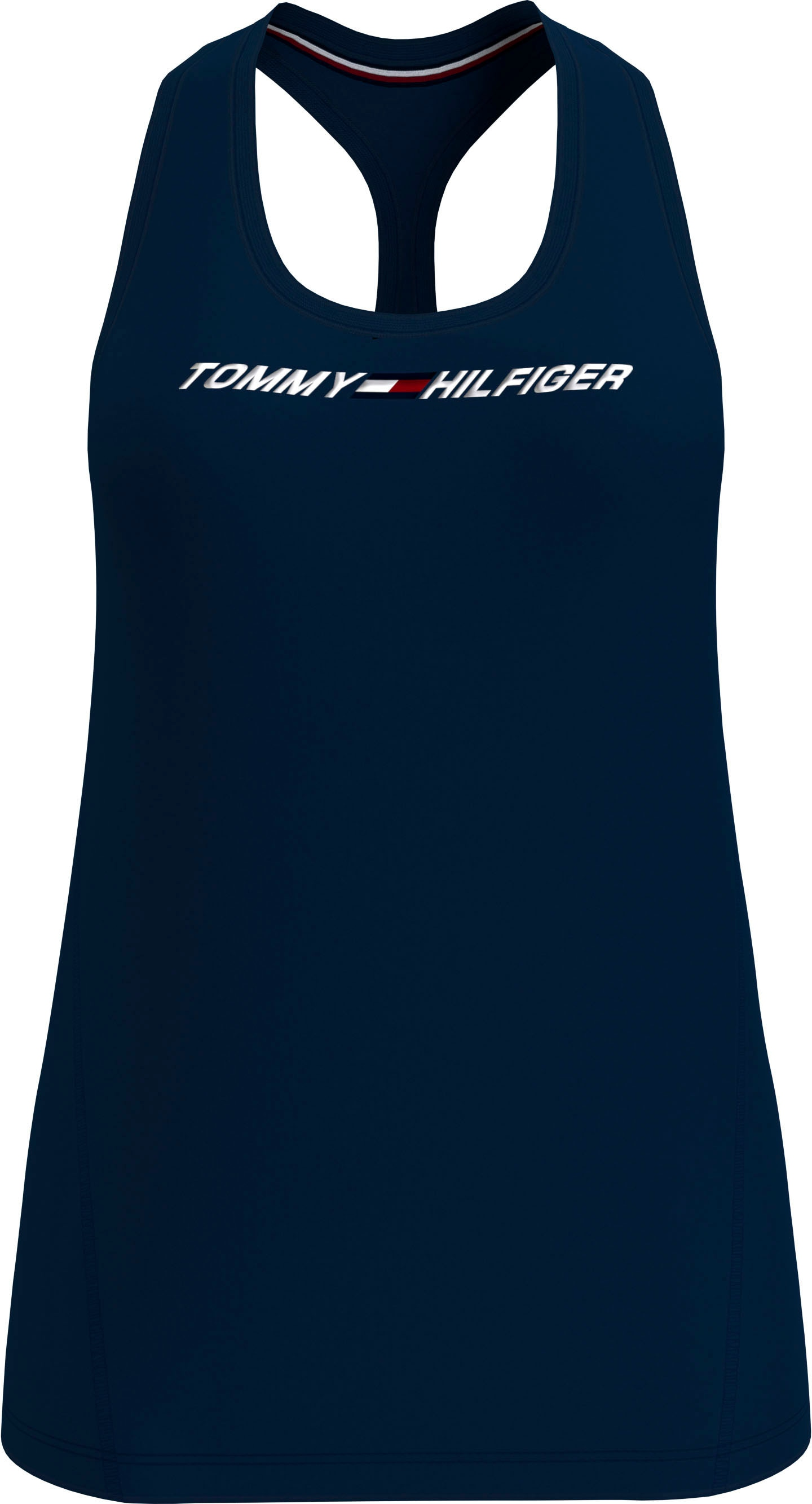 tommy sport -  Sporttop REGULAR R-NK GRAPHIC TANK