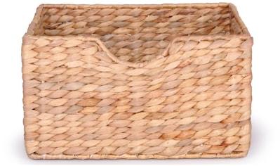 Franz Müller Flechtwaren Dekokorb, (1 St.), aus Wasserhyazinthe, Höhe ca. 17 cm kaufen