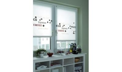 GARDINIA Seitenzugrollo »EASYFIX Rollo Dekor Coffee«, Lichtschutz, ohne Bohren, im Fixmaß kaufen