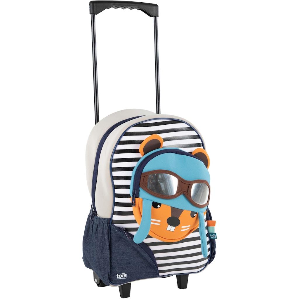 smarTrike® Kinderkoffer »Trolley Eichhörnchen«, 2 Rollen