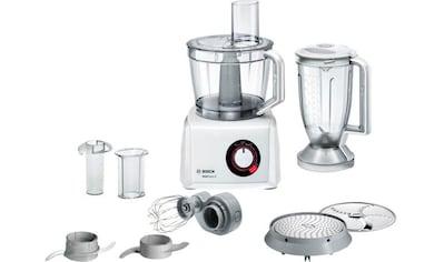 BOSCH Kompakt - Küchenmaschine MultiTalent 8 MC812W501, 1000 Watt, Schüssel 3,9 Liter kaufen