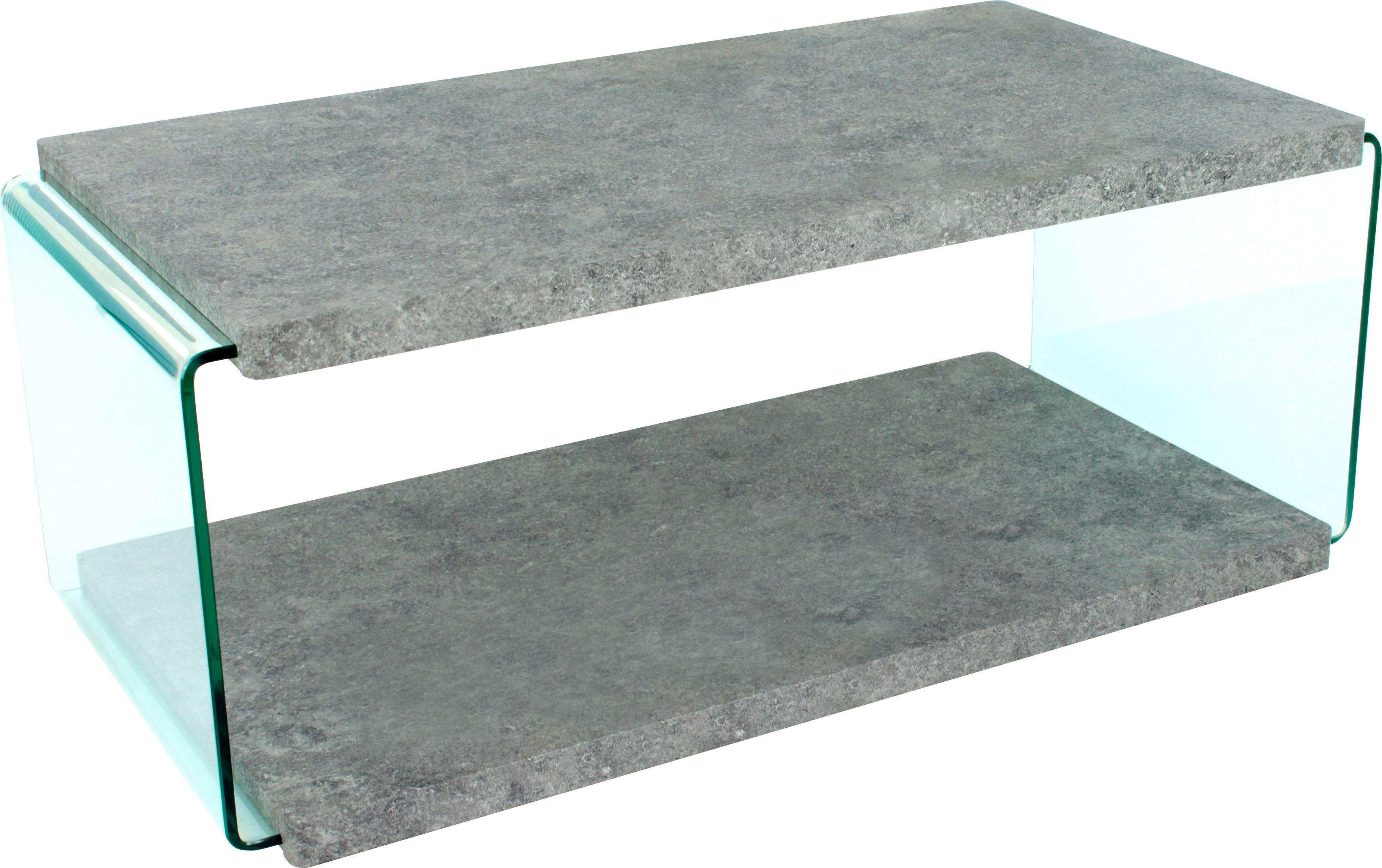INOSIGN Couchtisch, rechteckige Tischplatte