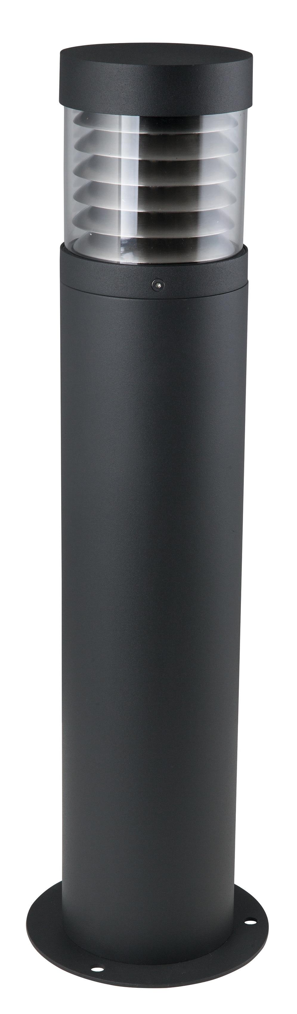 HEITRONIC Sockelleuchte Kresos, E27, 1 St., Klarer 360°-Lichtaustritt, für Leuchtmittel bis max. 40 mm Durchmesser