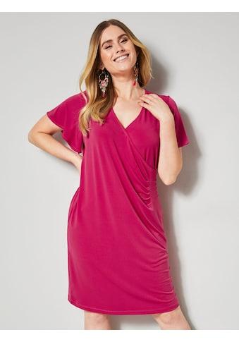 Sara Lindholm by HAPPYsize Jerseykleid mit Raffung kaufen