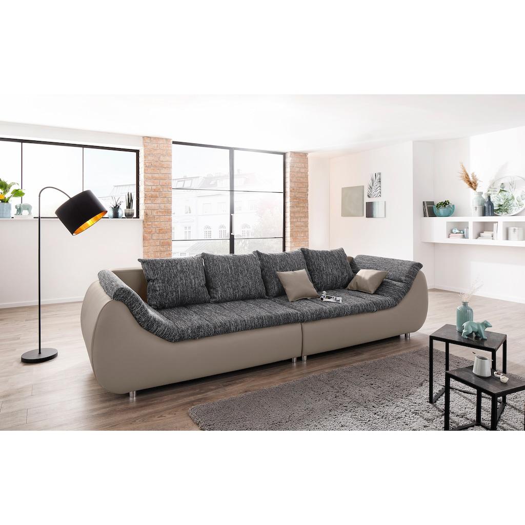 my home Big-Sofa »Milana / Liliana«, wahlweise mit Bettfunktion