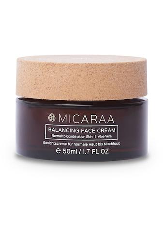 MICARAA NATURAL COSMETICS Gesichtspflege »für normale bis Mischhaut«, mit Aloe Vera... kaufen