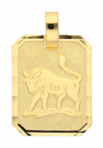 Adelia´s Kettenanhänger »333 Gold Sternzeichen Anhänger Stier« kaufen