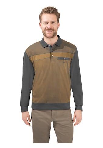 Hajo Langarm - Poloshirt in bewährter stay - fresh - Qualität kaufen