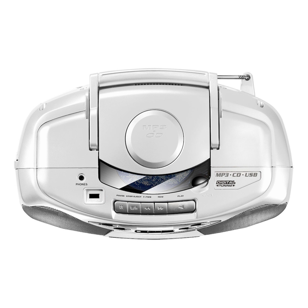 Karcher Stereo-CD Player »RR 510(N)-W«, Anti-Schock-Funktion