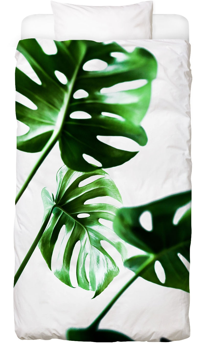 Bettwäsche Monstera 4 Juniqe