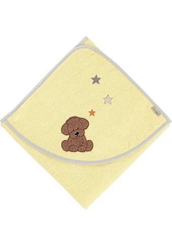 Sterntaler® Badetuch »Hanno«, (1 St.), mit Hund und Sternen kaufen