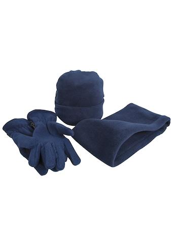 Result Strickmütze »Unisex Active Fleece Winter - Set mit Mütze, Handschuhen und Halswärmer , Anti - Pilling« kaufen