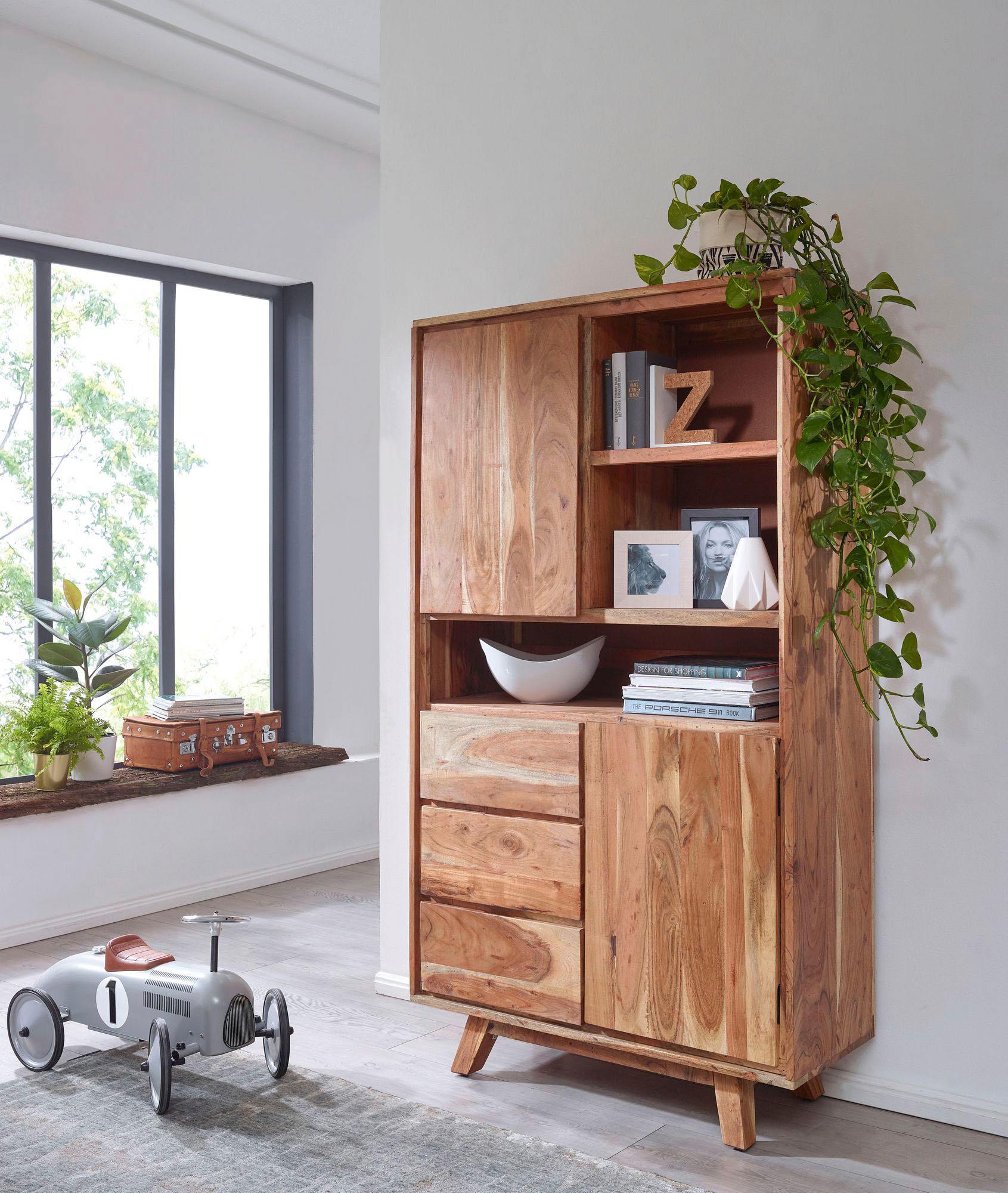 Home affaire Highboard Almira (Breite 100 cm)