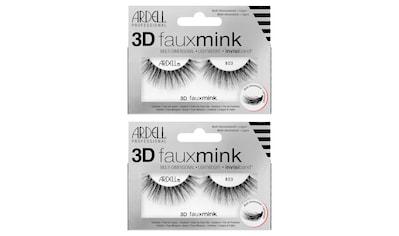 ARDELL Bandwimpern »3D Faux Mink 853«, aus seidigem Synthetik kaufen