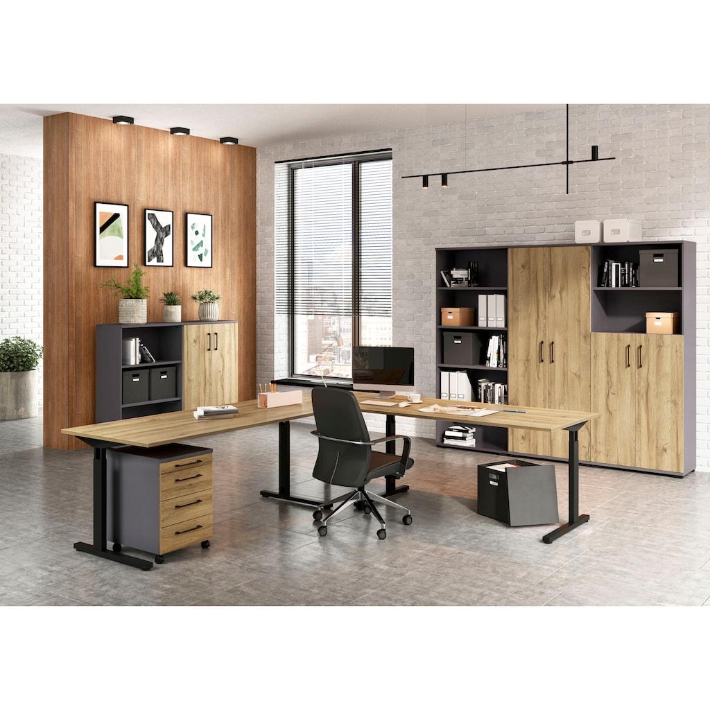 GERMANIA Schreibtisch »Profi 2.0«, höhenverstellbar, Breite 180 cm