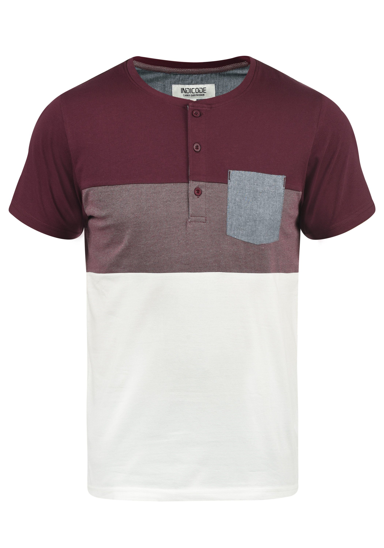 Indicode Rundhalsshirt Albert | Bekleidung > Shirts > Sonstige Shirts | Rot | Indicode