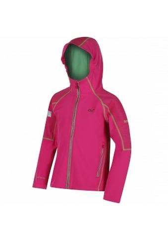 Regatta Softshelljacke »Great Outdoors Kinder Acidity II Softshell Jacke mit Kapuze, reflektierend« kaufen