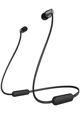 Sony Headset »Kabellose Bluetooth In - Ear Kopfhörer WI - C310« kaufen