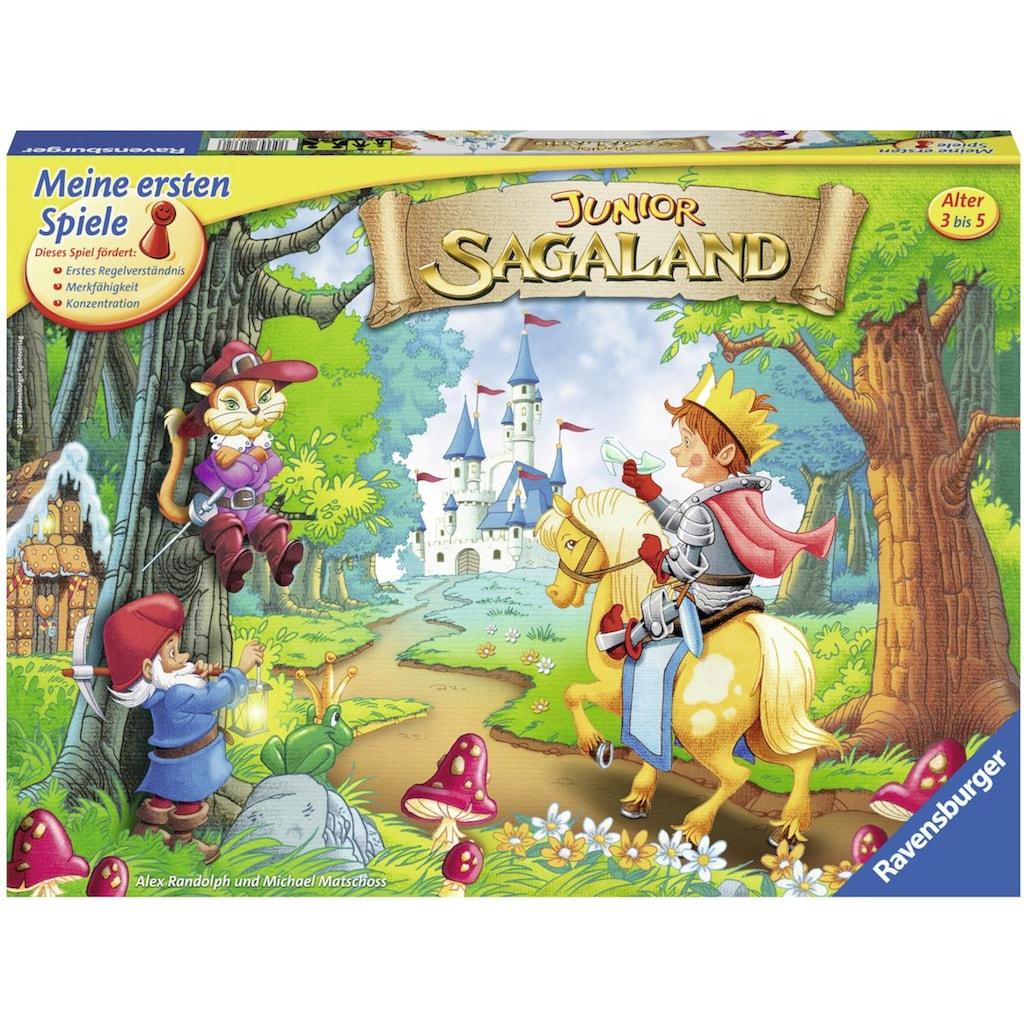 Ravensburger Spiel »Junior Sagaland«, Made in Europe, FSC® - schützt Wald - weltweit