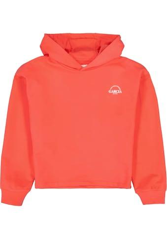 Garcia Kapuzensweatshirt, in kurzer modischer Form kaufen