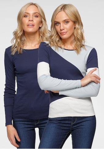 Flashlights Langarmshirt, Colorblocking-Style kaufen