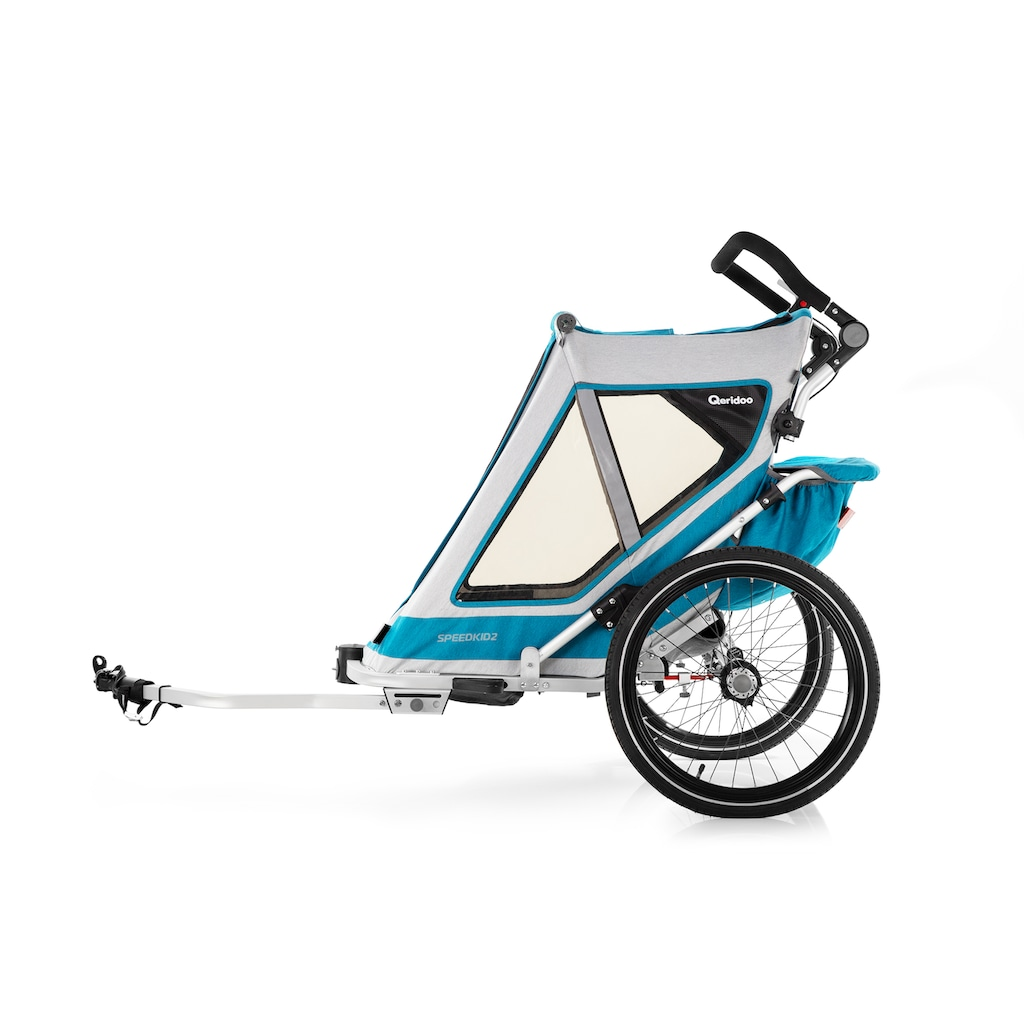 Qeridoo Fahrradkinderanhänger »SPEEDKID 2«