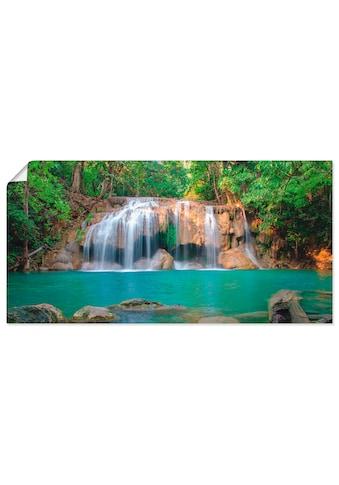 Artland Wandbild »Wasserfall im Wald National Park« kaufen